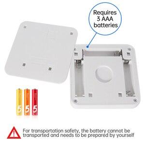 Image 5 - Nuova luce notturna sensore di movimento intelligente lampada DA notte a LED lampada DA comodino WC a batteria per corridoio corridoio WC DA