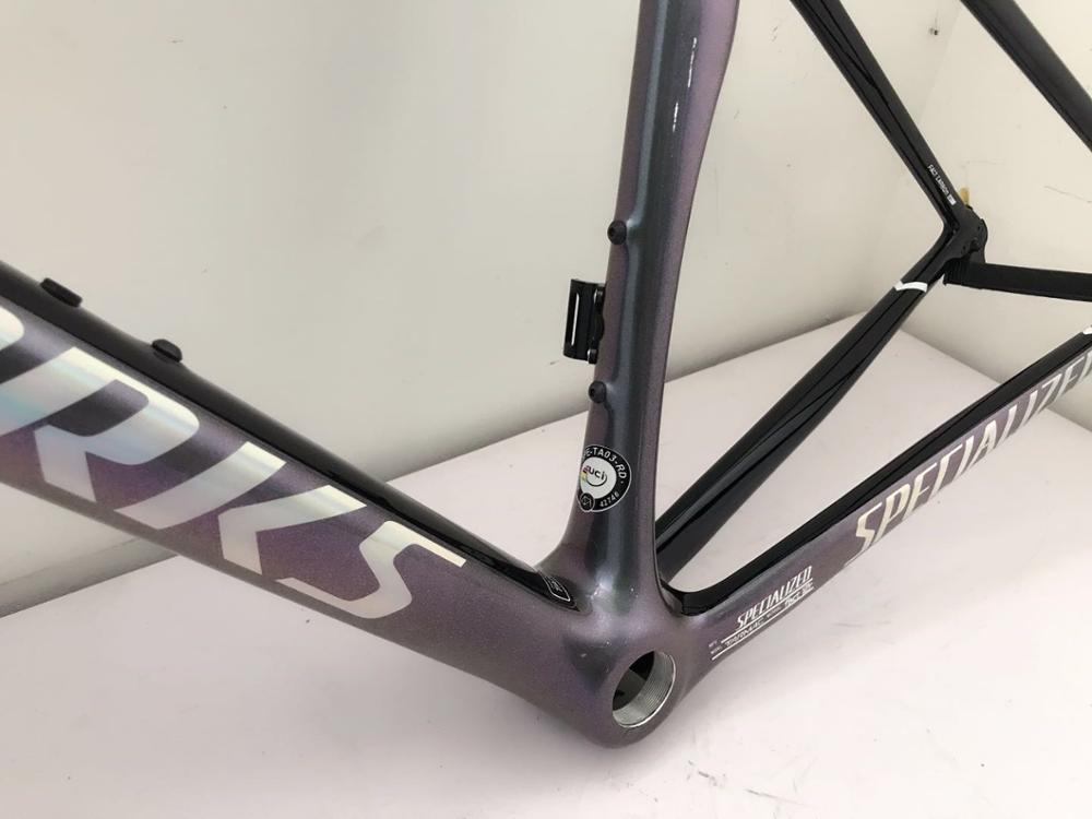 Carbon Road Bicyle Frame 700c V Brake Full Carbon Bike Frame New Design Chameleon Color 49 52 54 56 58cm 2 Year Warranty Thrust