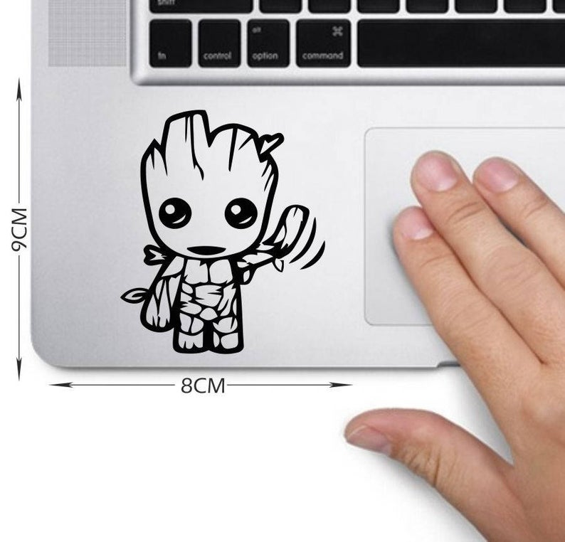 Baby Groot  Decal Laptop Sticker Laptop Decal  HJ940
