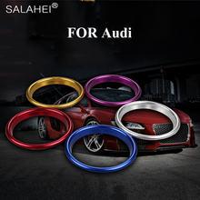 Лидер продаж 4 шт/компл автомобильные наклейки кольца на вентиляционное