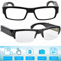 Nueva moda media o lentes de marco completo inteligente gafas 32GB/16GB 1920*1080 un botón para operar tomar fotos de vídeo
