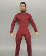 Мужская одежда в масштабе 1:6 красный комбинезон свитер подходит