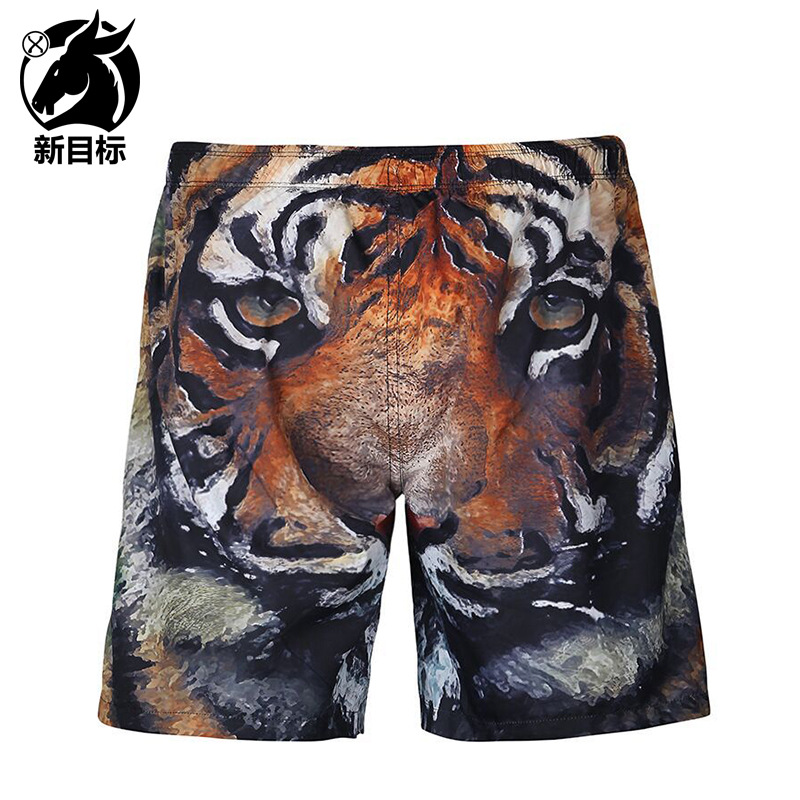 Creative 3D Printed Beach Shorts 2019 Amazon Hot Selling Popular Brand Sports Fitness Shorts Men's Casual Pants