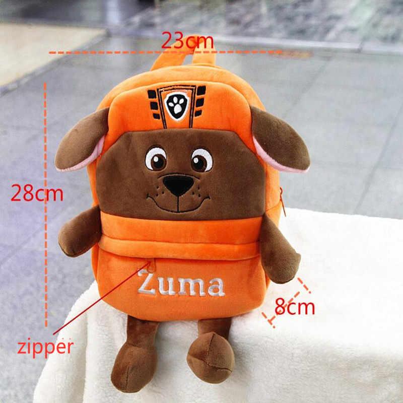 Nova Educação Precoce Brinquedos de Pelúcia Boneca Cão Pata Patrulha 1-4 Anos de Idade Do Bebê do jardim de Infância Mochila Mochila Crianças Presentes