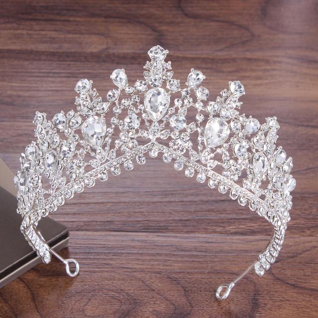 Baroque Crystal Bridal Jewelry Set 6