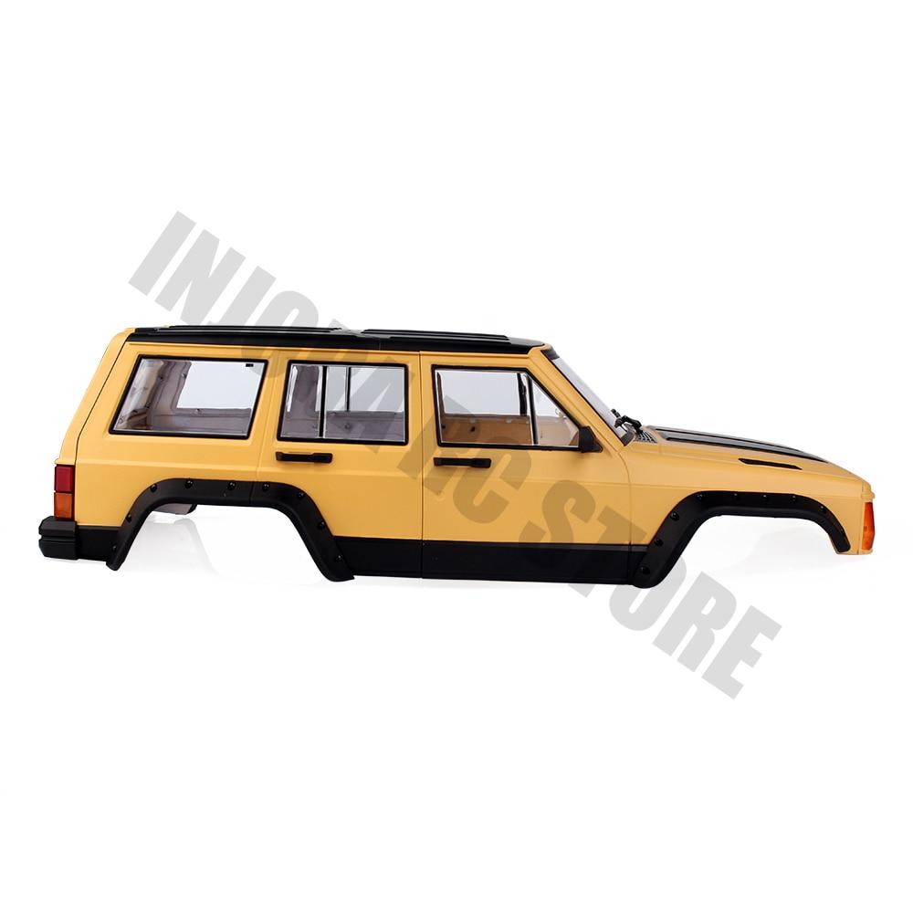 1//10 rc rock crawler auto body shell stahlseil für traxxas trx-4 trx4 d90