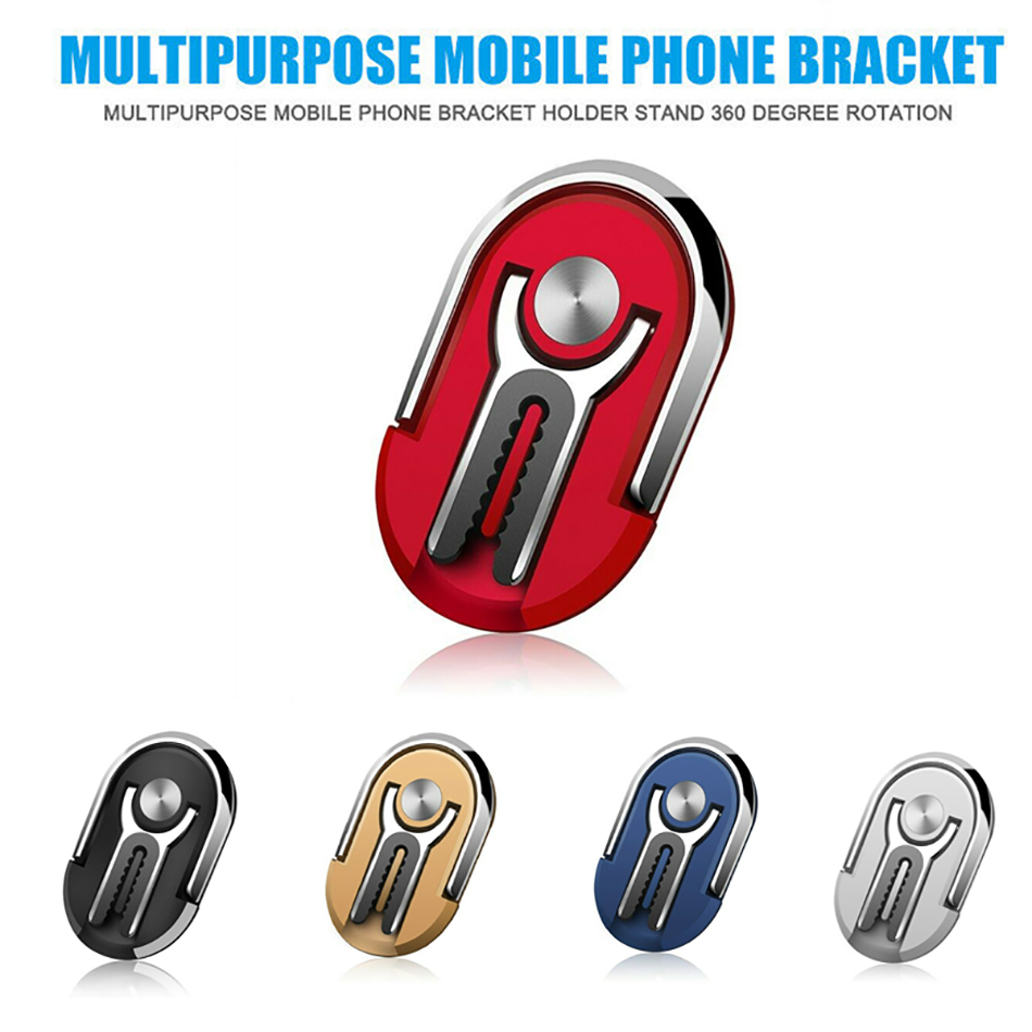 360 Rotation Magnetic Finger Ring Phone Holder Bracket For Phone In Car Air Vent Clip Mount Mobile Stand Magnet Car Phone Holder