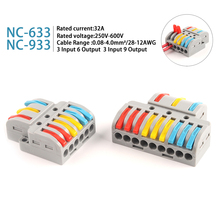 Terminal-Block Wiring-Connectors Electrical-Led-Splitter PCT Universal Spl-Series Push-In
