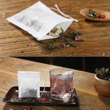 100Pcs/Lot Teabags 5.5 x 7CM Empty Scented Tea Bags With Str