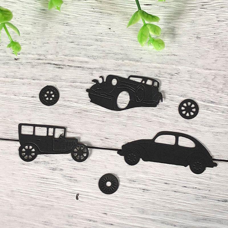 1 Set Car Carbon Steel Cutting Die Stencil Embossing  DIY Paper Scrapbooking Art