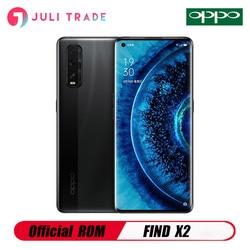 OPPO Find X2 мобильный телефон с Snapdragon 865, Android 10,0, 6,7 дюймOLED120Hz QHD + 8 Гб 128 ГБ 65 Вт Зарядное устройство для камеры Ultra Vision