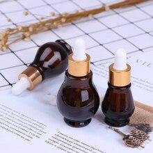 10/20/30/50ml Amber Glass/Plastic Dropper Bottle essential Oil Perfume Bottles Empty Container Travel Refillable Bottle