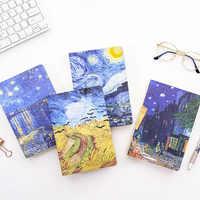 A5 Van Gogh Letterario In Bianco Notebook Studente Vintage Planner Settimanale Ufficiale Sketchbook Kraft Diario di Carta Scuola di Forniture Per Ufficio