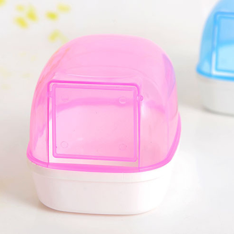 1×Plastic Small Pet Hamster Sand Bathroom Bathing Potty House Toilet Indoor Home