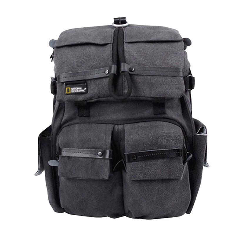 Sac de caméra de haute qualité NATIONAL géographique NG W5070 sac à dos de caméra véritable sac de caméra de voyage en plein air (version Extra épaisse)
