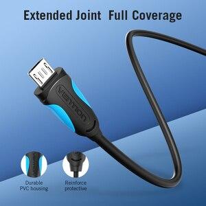 Image 3 - Vention 3A Micro câble USB fil de charge rapide pour Android téléphone Mobile données synchronisation chargeur câble 3M 2M pour Samsung HTC Xiaomi Sony