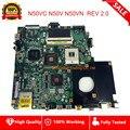 N50VC 4 ram слот для материнской платы REV 2 0 для ASUS N50VC N50V N50VN материнская плата для ноутбука PM45 DDR2 полностью протестированная Быстрая доставка