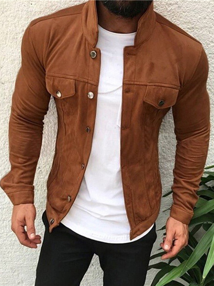Brand Fashion Men Slim  Jackets Men's Casual  1