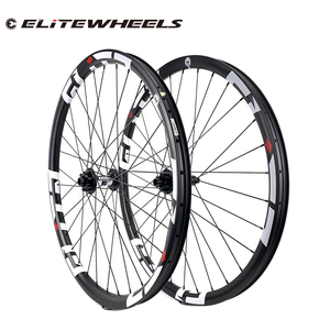 Image 1 - 29er 33mm width 29mm height hookless mtb carbon wheelset 29 inch Carbon Mountain Bike wheels with MTB DT350 hub