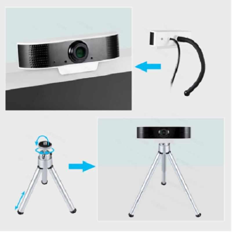 Веб-камера со встроенным микрофоном, 2 МП, 1080P, Full HD, USB