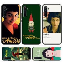 Amelie Poster Klassische Frankreich Film Fall Für OPPO Realme X2 Pro 6 7 X7 X50 XT C3 Reno 4 Pro a9 2020 OnePlus 8 7 Pro 7T Nord(China)