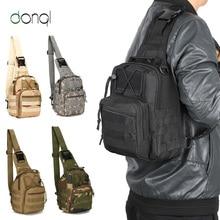 DONQL Fishing Bag Multifunctional Outdoor Waist Bag Portable Lure  Shoulder Pack Messenger Bag Pole Package Fishing Tackle Bag