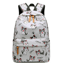 Canvas Printing Children School Backpack High Quality School