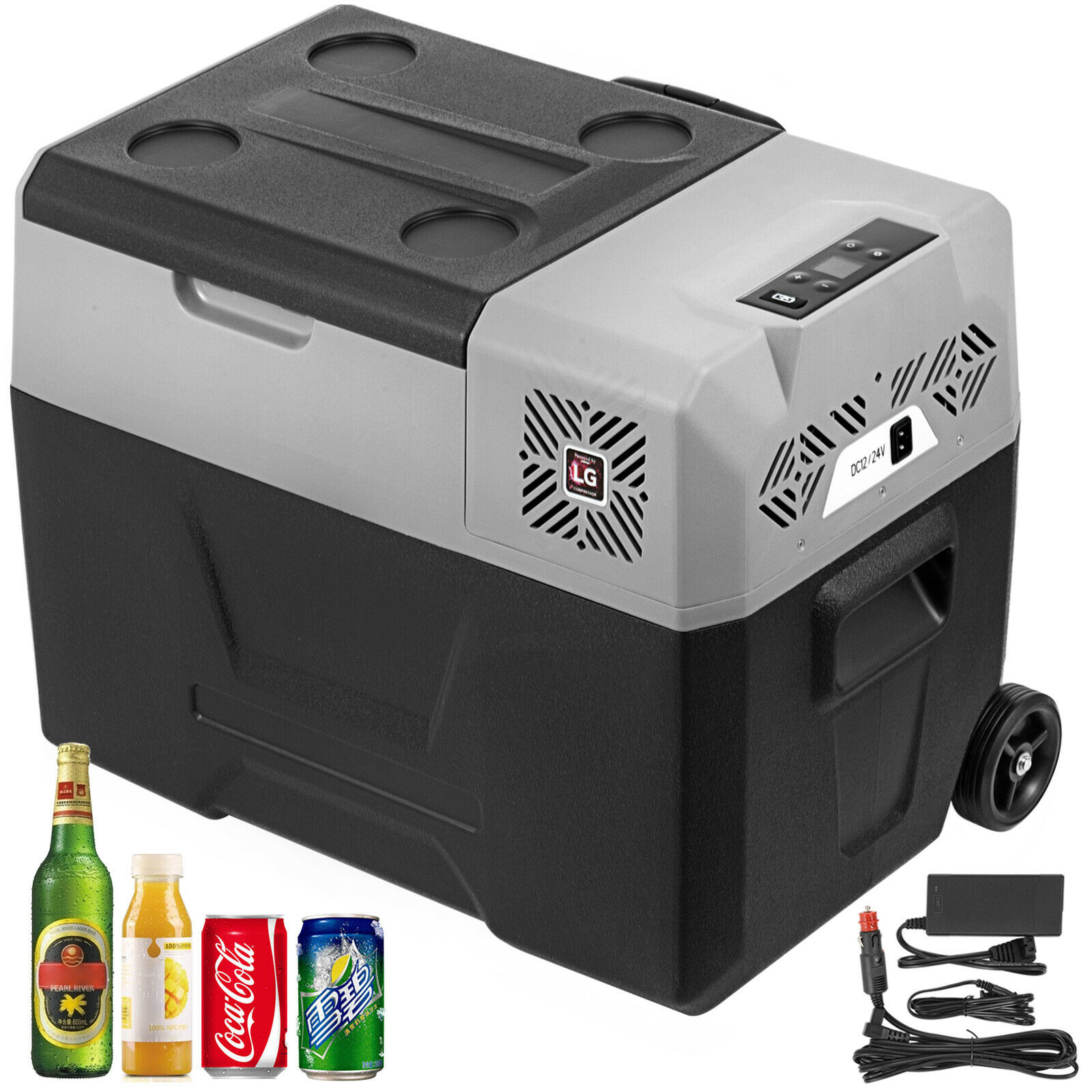 Compressor Portable Small Refrigerator Cooler Freezer Home And Car Vehicular