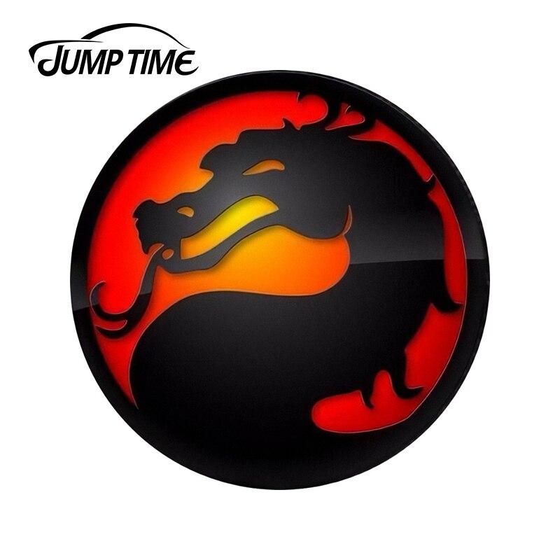 JumpTime 13cm X 13cm Mortal Kombat Funny Car Stickers Car Rear Windshield Bumper Laptop Waterproof Vinyl Decal