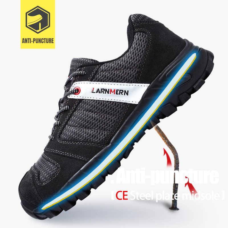 MODYF erkek çelik ayak iş güvenliği hafif nefes Anti-smashing anti-delinme kaymaz inşaat ayakkabı