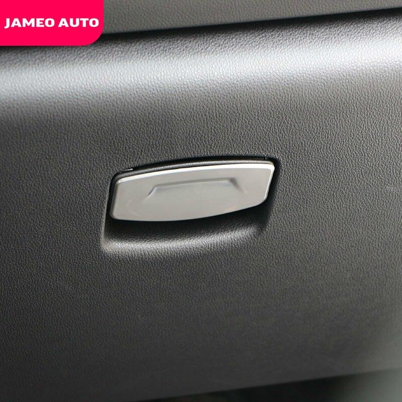 Jameo Auto Car Glove Box Handle Cover Sticker Fit For Renault Koleos Samsung QM6 2016 - 2019 Kadjar 2014 - 2019 Accessories