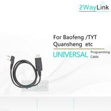 Universele Usb Programmering Kabel Voor Walkie Talkie Accessoire Voor Baofeng UV 5R Uv 5R Bf 888S UV 82 Tyt TH UV8000D KD C1 Radio