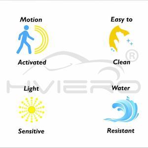 Image 4 - Умный ночник для сиденья унитаза с пассивным ИК датчиком движения, 8 цветов, светильник ильник с подсветкой для туалета, 1 шт.