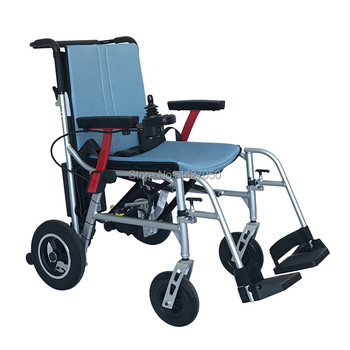 2019 Free shipping lithium battery ultra-light comfortable and foldable electric wheelchair