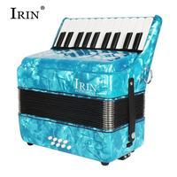 IRIN 22 Keys 8 Bass Keyboard Instruments Accordion Musical Instrument Rhythm Band for Beginner Children