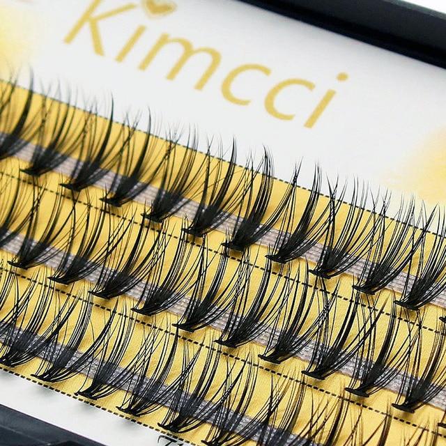 Kimcci Professional 0.07C 20D Individual Eyelash Extension Makeup Grafting Cluser Eyelashes Natural Soft False Eye Lashes Cilia