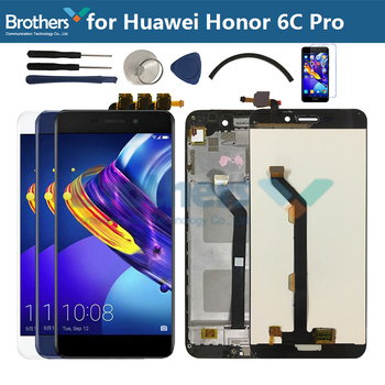 Original For Huawei Honor 6C Pro LCD Display Touch Screen Digitizer Assembly For Honor 6C Pro LCD JMM-L22 AL10 AL00 Replacement цена 2017