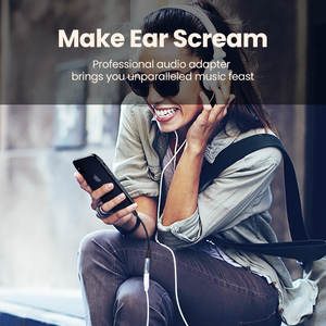 Image 2 - Ugreen MFi ברקים כדי 3.5mm אוזניות מתאם עבור iPhone 12 11 פרו 8 7 Aux 3.5mm שקע כבל עבור ברק מתאם אביזרים