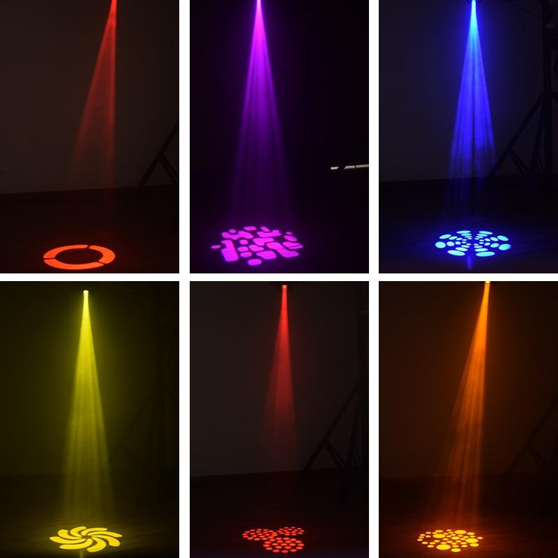 Купить с кэшбэком Led Spot 60w Moving Head Lights Gobo Stage Dj Light Dmx Controller for Projector Dj Disco Stage Lighting