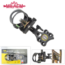Archery Fine-tuning 0.19 Five-needle Sighting Compound Bow Quick-tuning sight Short-bar Aiming Tool Hunting Shooting Accessories