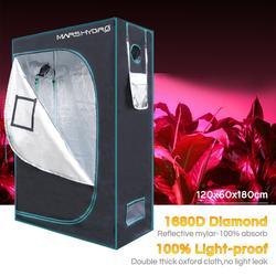 120x60x180cm Mars Hydro Innen Wachsen Zelt Hydrokultur Lampe Ungiftig Zimmer Box