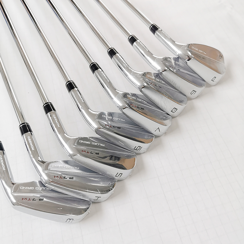 Golf Club P7TW Golf Irons Set 3-9P (8pcs) Flex S and R Steel Shaft With Headcover Free Shipping 6