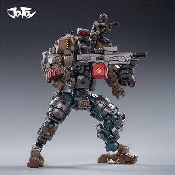 цена на JOYTOY 1/25 action figure robot Military Steel bone H04 armor cam Mecha Collection model toys present