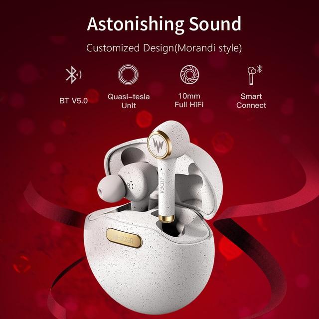 WHIZZER TP1S wireless Bluetooth earphone 3D stereo wireless  2
