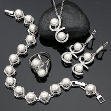 Женские свадебные ювелирные наборы из стерлингового серебра
