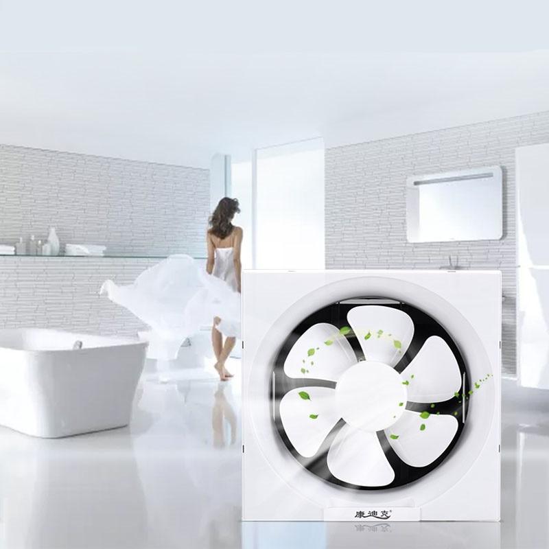 exhaust fan ventilation fan 8 inch bathroom silent wall window kitchen oil smoke fan exhaust one way with protective net ef10