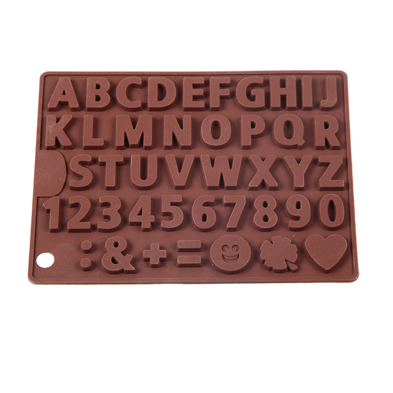 Baking Accessories Cream Cake 26 Alphabet Decorating Tools Chocolate Mold Bakery Accessories Pastry Cake Design Silicone Mould