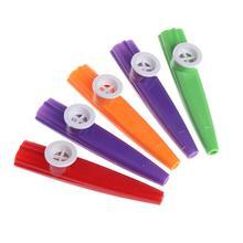 5 шт смешанный цвет Orff пластиковый казу губная гармоника рот флейта дети партии подарок игрушка