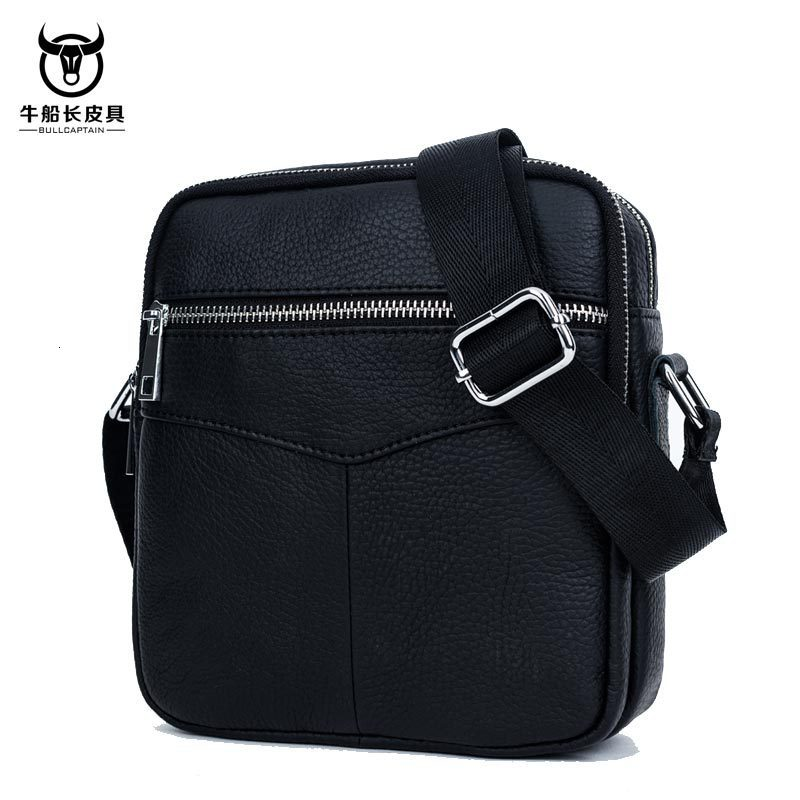 Man Single Shoulder Head Layer Cowhide Business Leisure Time Vertical Section Package Men Genuine Leather Bag Briefcase