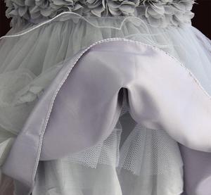 Image 4 - 女の赤ちゃんドレスレースの花の子供服王女のウェディング洗礼子供着用 1 年の誕生日 vestido infantil 6M 4Y